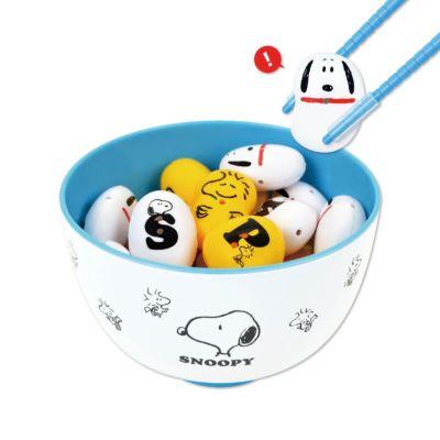 マナー豆 おはし de おべんきょう スヌーピー(ABC) メイン